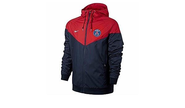 Nike PSG NSW WR Wvn Aut Chaqueta Línea Paris Saint Germain ...