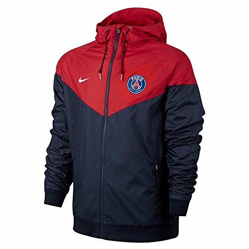 Nike PSG NSW WR Wvn Aut Chaqueta Línea Paris Saint Germain, Hombre: Amazon.es: Deportes y aire libre