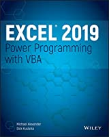 Excel 2019 Power Programming with VBA Front Cover
