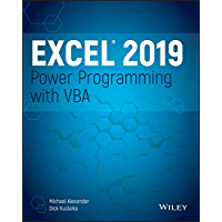 Excel 2019 Power Programming with VBA (English Edition)