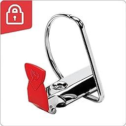 Cardinal SuperLife Pro Easy Open  ClearVue Locking Slant-D Ring Binder, 1.5-Inch, White (54662)