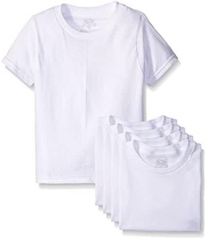 Fruit of the Loom Little Boys' Crew Tee Five-Pack (Pack of 5)