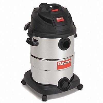 Wet/Dry Vacuum, 6 HP, 12 gal, 120V