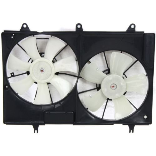 MAPM Premium CTS 04-07 RADIATOR FAN SHROUD ASSEMBLY. Dual Fan, 3.6L/6.0L Eng.