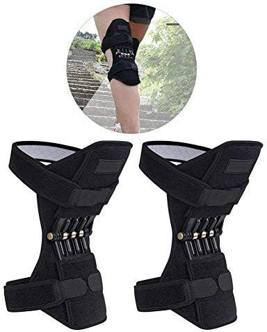 XGZCL Kniebandage Kniestütze unterstützung verstellbare Orthese zur Arthritis Schmerzlinderung Sportverletzungen zur Rehabilitation und zum Schutz gegen eine erneute Verletzung