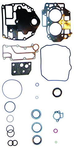 YAMAHA 1998-2001 4-Stroke 25 HP, 03 LST1200-B 2 Cyl. Complete Power Head Gasket Kit WSM 500-314 OEM# 65W-W0001-00 ()