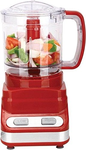 Brentwood 3 Cup Food Processor In Red (fp-548) by Brentwood