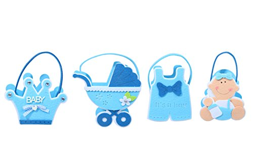 Juvale Baby Shower Decorations Set, 5 x 7.5 x 2.5 Inch