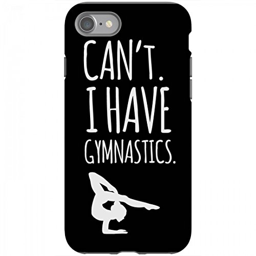 Got Gymnastics Phone Case: Rubber iPhone 6 Case Black