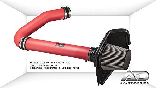 Af System (AF Dynamic COLD Air Intake system RED 11-17 CHRYSLER 300C 300 CHARGER CHALLENGER 3.6 3.6L V6)