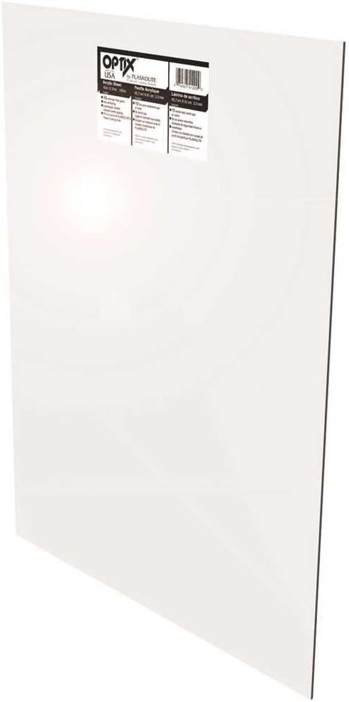 Amazon Com Plaskolite 1ag1160a Optix Acrylic Sheet 36x36x 100 672211 Home Improvement