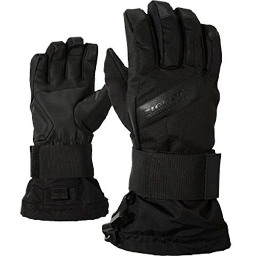 Ziener Jungen Handschuhe Mikks AS Junior Gloves SB, Black Hb, L, 151721