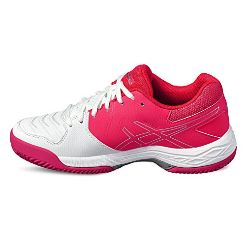 Scarpe Donna White nbsp; nbsp;clay diva Tennis nbsp; Pink 6 Asics silver Gel game Da 0RqYUgU
