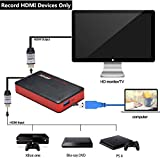 MYPIN HDMI Game Capture Card USB 3.0 HD Video 1080P 60FPS, Live Streaming Game Recorder Device Compatible with PS4, Xbox One,Wii U etc, Windows Linux Os X System