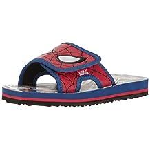 Stride Rite Kids Spectacular SpiderMan Slide Sneakers