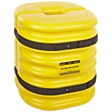 "Eagle 1724-6 Mini Column Protector, 24"" Length X 24"" Width X 24"" Height, Yellow, for 6"" Column"