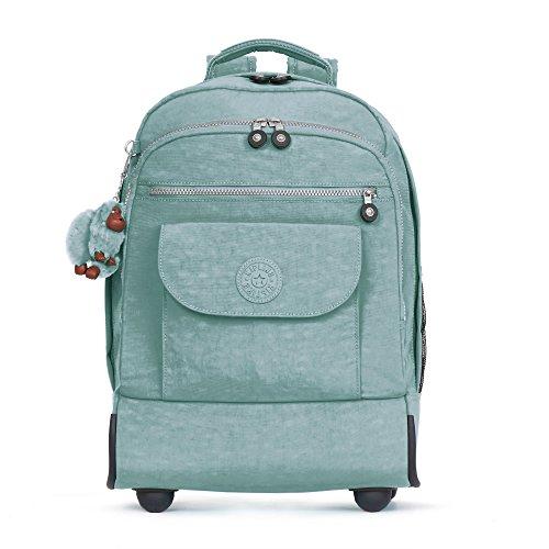 Kipling Women's Sanaa Large Rolling Backpack One Size Sea Green by Kipling