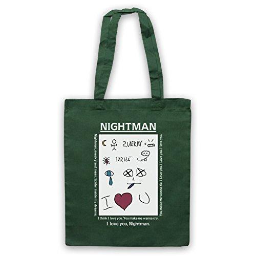 Bag Philadelphia Note Dark Always Inspired In by Tote Sunny Unofficial Green Nightman It's Lyrics UR77XqnP