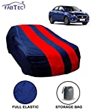 Fabtec Red & Blue Car Body Cover for Maruti Swift Dzire 2018 with Storage Bag Combo!