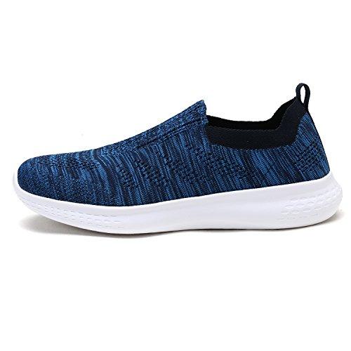 Dröm Par Mens 171.114-m Lätta Andas Mode Sneakers Sport Promenadskor Marinblå