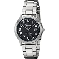 Casio Unisex Silver-Tone Men's Watch