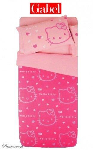 Hello Kitty Impresión con Purpurina Completo Funda nórdica ...