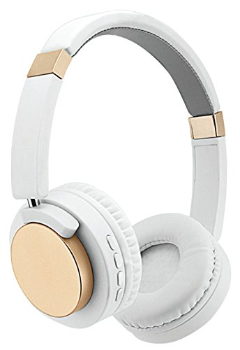 SENTRY WHITE DIAMOND WIRELESS HEADPHONES (Sentry The Head Over Headphones)