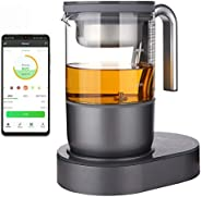 Qi Aerista IoTea Brewer | Award-Winning Smart Tea Brewer | Perfect Tea Maker | 9 Auto Brew Programs | Smartpho