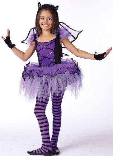 Batarina Child Costume - Medium (8-10) by Halloween FX - Batarina Child Halloween Costume