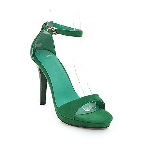 SHINIK femeninas Sandalias tacón alto europeas sandalias con de damas finas americanas B de plataforma Zapatos mujer impermeables y de Nuevas Uxr6UBa
