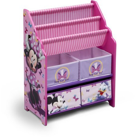 Book and toy organizer disney book and toy organizer for Toy and book storage