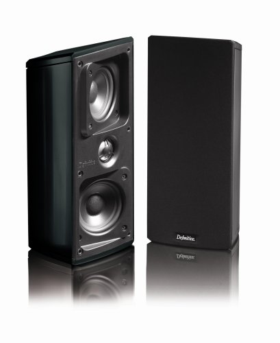 Definitive Technology Mythos Gem Satellite Speakers (Pair, Black) by Definitive Technology