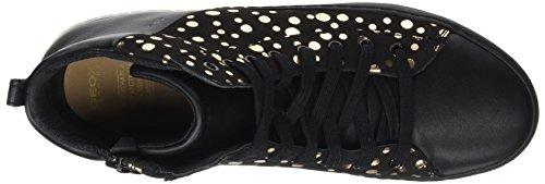 Mixte Noir EU Kalispera 41 Adulte Black Geox B J Baskets Hautes Gold 0fgW0qXBw