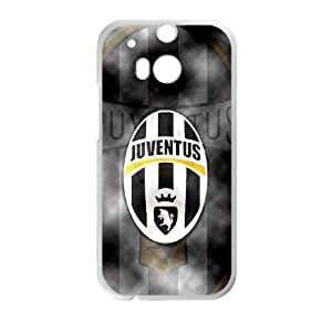 HTC One M8 Cell Phone Case White Juventus Football fqi