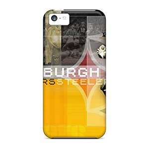 Great Hard Cell-phone Case For Iphone 5c With Support Your Personal Customized Stylish Pittsburgh Steelers Pictures SherriFakhry