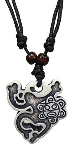 Exotic & Trendy Jewelry, Books and More Taino Necklace Taino Symbol Tribal Frog Necklace Turtle Necklace Taino Pendant Turtle Necklace Yin Yang Coqui Taino Sun