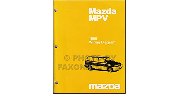 1996 mazda mpv wiring diagram manual original: mazda: amazon.com: books  amazon.com