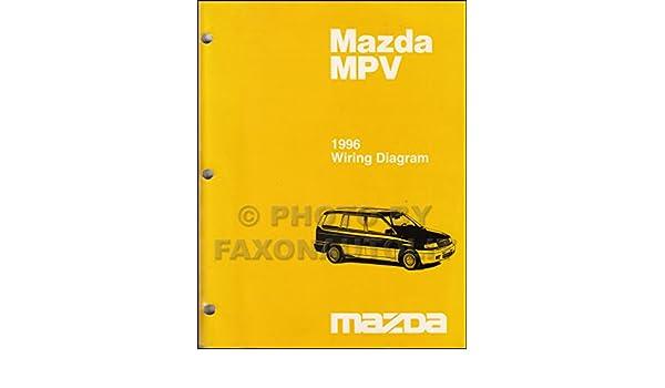 1996 Mazda Mpv Wiring Diagram - Wiring Diagram Schema