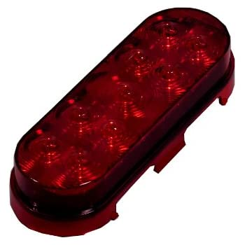 41Oayf ctYL._SL500_AC_SS350_ amazon com maxxima m63350r 14 led red oval ultra thin 0 4\