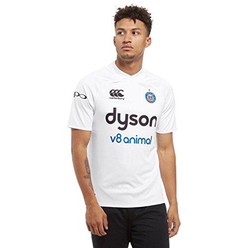 fan products of Canterbury Bath Away 2017/18 Pro Shirt, White, L