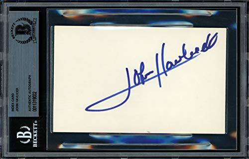 aphed Signed Memorabilia 3X5 Index Card Boston Celtics - Beckett Authentic ()