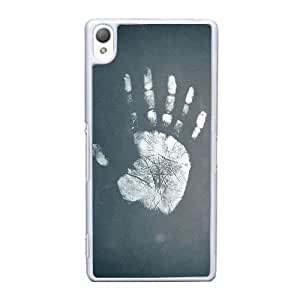 Durable Rubber Cases Sony Xperia Z3 Cell Phone Case White art fon yumor Tjplyl Protection Cover