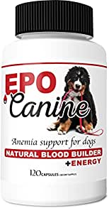 EPO-CANINE Anemia Support / Blood Builder For Dogs (30 Day Supply)