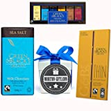 Green And Blacks Salted Caramel Thin And All Time Favourites Man Box By Moreton Gifts Ideal Birthday, Father's Day Gift