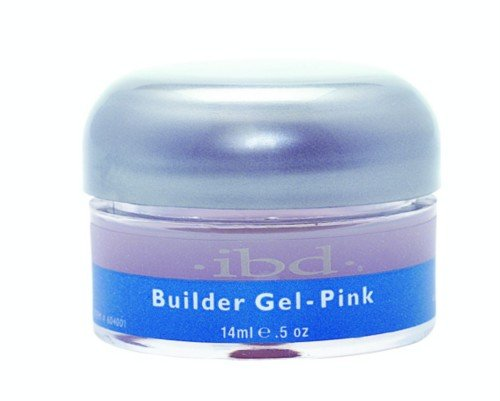 Tips Clear Ibd (IBD Builder Gel Pink .5 oz)