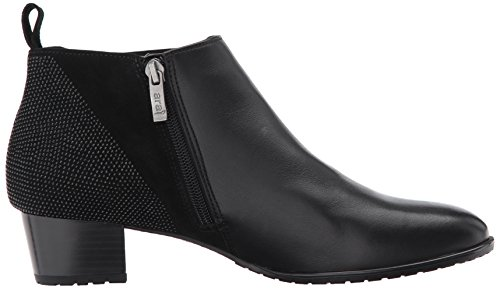 Suede Ankle Boot Women's Leather Black Patty ara w4SBYS