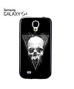 Skeleton Skull Inverted Triangle Mobile Cell Phone Case Samsung Galaxy S4 Black by lolosakes