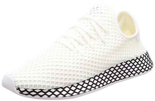 adidas Men Deerupt Runner Gymnastics Shoes White (Ftwr White/Ftwr White/Core Black Ftwr White/Ftwr White/Core Black)