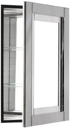 Robern CB-MT20D4CDGN Candre Medicine Cabinet, Tinted Grey