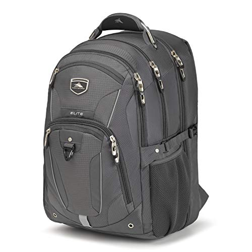High Sierra Elite TSA-Friendly Laptop Backpack, Mercury
